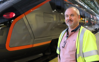Responsible for the maintenance of Flytoget's new trains
