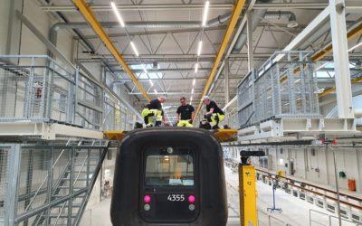 Snart klare for oppstart i Sveriges mest moderne togverksted
