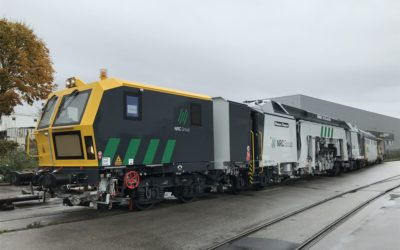 Mantena delivers ATC for Norway's longest track alignment machine